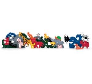 These animals know their alphabet.